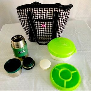 IGLOO LUNCH BAG STANLEY THERMOS & EZ FREEZE 🥶BOWL